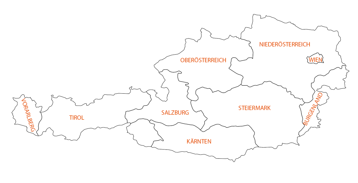austria map WEB